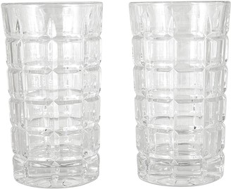 Cellar Premium Luxe Crystal Glass 2 Piece Whisky Highball Glass Set 310ml