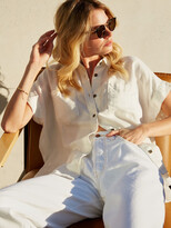 Thumbnail for your product : ÉTICA Ash Short Sleeve Shirt - Vintage White