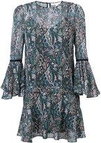 Veronica Beard floral print short dress