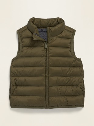 Old Navy Frost-Free Solid Puffer Vest for Toddler Boys