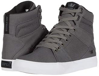Supra Aluminum (Grey/Black/White) Men's Skate Shoes