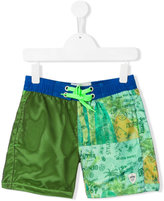 Vingino color block swim shorts - kids - Polyester - 10 yrs