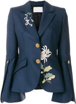 Peter Pilotto floral embroidered blazer