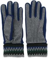 Carven ribbed cuff gloves