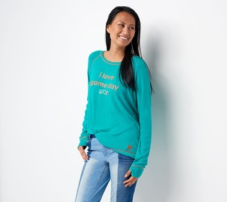 Peace Love World Game Day Comfy Knit Top