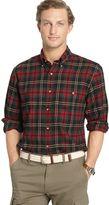 Arrow Men's Classic-Fit Plaid Flannel Button-Down Shirt