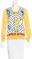 Dolce & Gabbana Wool & Silk-Blend Cardigan