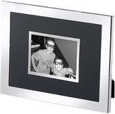 Natico Black and Silver-Tone 2x3 Picture Frame