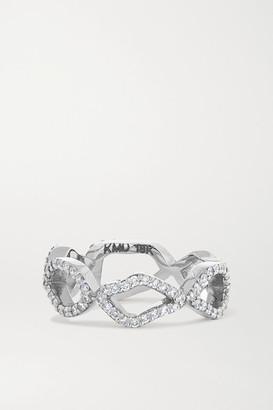 Kimberly 18-karat White Gold Diamond Ring - 7