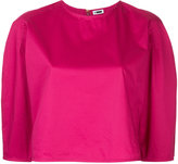 H Beauty&Youth cropped boxy top