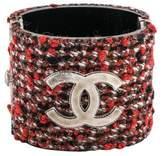 Chanel CC Tweed Bracelet