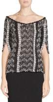 Roland Mouret Dover Multi-Yarn Knit Top