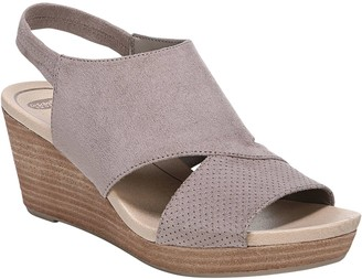 Dr. Scholl's Slip-On Wedge Sandals - Brita