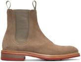 Rag & Bone Beige Suede Spencer Boots