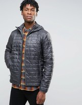 Patagonia Nano Puff Hooded Jacket In Grey