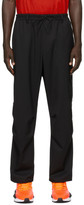 Y-3 Y 3 Black Refined Wool Cargo Pants