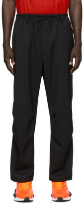 Y-3 Black Refined Wool Cargo Pants