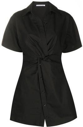 Alexander Wang Twist-Detail Shirt Dress