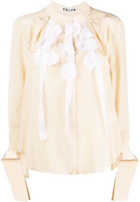 Teija Paita silk blouse