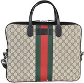 Gucci Web Gg Supreme Briefcase