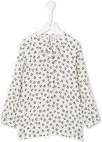 Simonetta animal print blouse