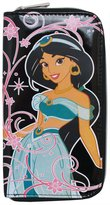 Disney Jasmine Aladdin Cartoon Movie Printed Zip Around Wallet