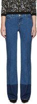 Valentino Blue Flared Jeans