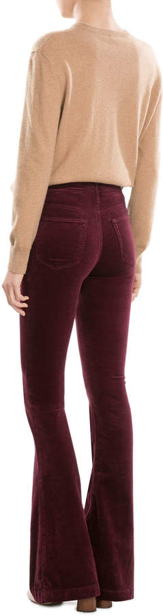AG Jeans Wide Leg Velvet Pants