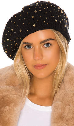 Jennifer Behr Gold Studded Beret
