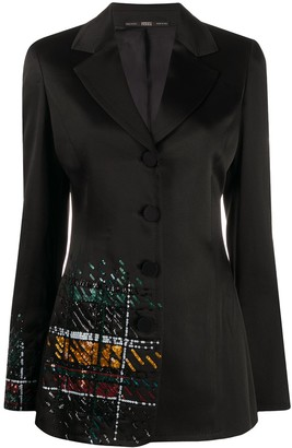Gianfranco Ferré Pre-Owned 1990s Sequin Embroidered Blazer