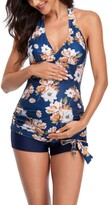 Thumbnail for your product : Savi Mom Pacific Ocean Two-Piece Maternity Swimsuit