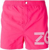 Kenzo logo print swim shorts - men - Nylon/Polyester - S