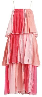 Lemlem Eshal Tiered Beach Dress