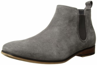 Kenneth Cole Reaction Men's Guy Chelsea Boot Grey 8 M US