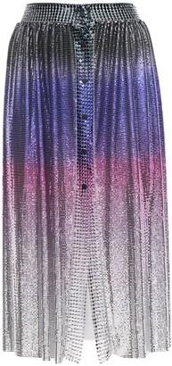 Paco Rabanne Metal Mesh Midi Skirt