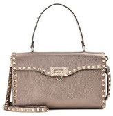 Valentino Garavani Rockstud metallic leather shoulder bag