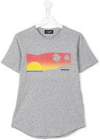 DSQUARED2 print T-shirt - kids - Cotton - 14 yrs