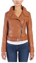 Mackage Women's Hania Leather Biker Jacket