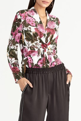 Rachel Roy Collection Vaughn Twist Front Blouse