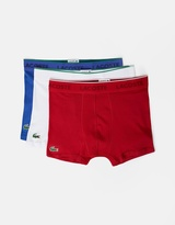 Lacoste 3-Pack Supima Cotton Trunks