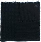 Faliero Sarti raw edge scarf - unisex - Silk/Polyamide/Cashmere/Virgin Wool - One Size