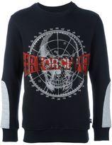 Philipp Plein skull embellished sweatshirt - men - Cotton/Polyester/glass - L