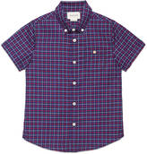 Gucci Children's check cotton shirt