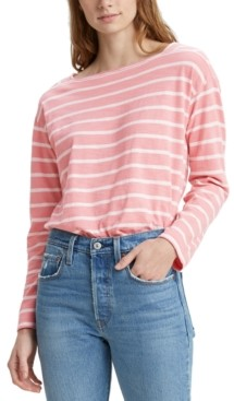 Levi's Jane Cotton Striped Sailor T-Shirt