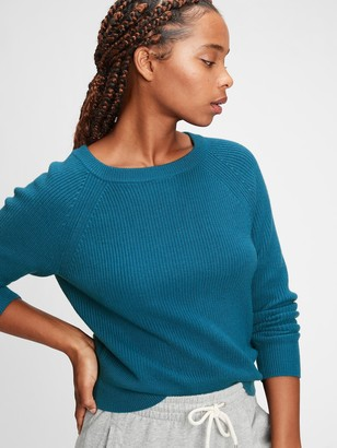 Gap Shaker Stitch Boatneck Sweater