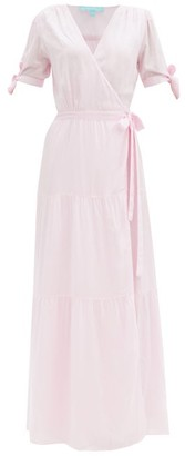 Melissa Odabash Emily Wrap-front Dress - Light Pink