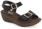 Munro American Marci Quarter Strap Wedge Sandal - Wide Width Available