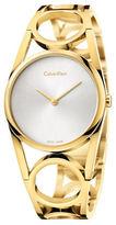 Calvin Klein Goldtone Stainless Steel Watch
