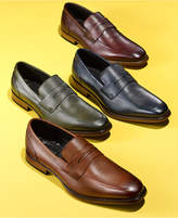 Bar III Men's Beau Textured Penny Loafers, Only at Macy's