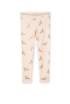 Country Road Foil Bird Legging